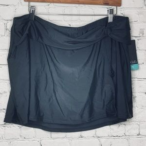Voglo bathing suit bottoms with skirt and sash